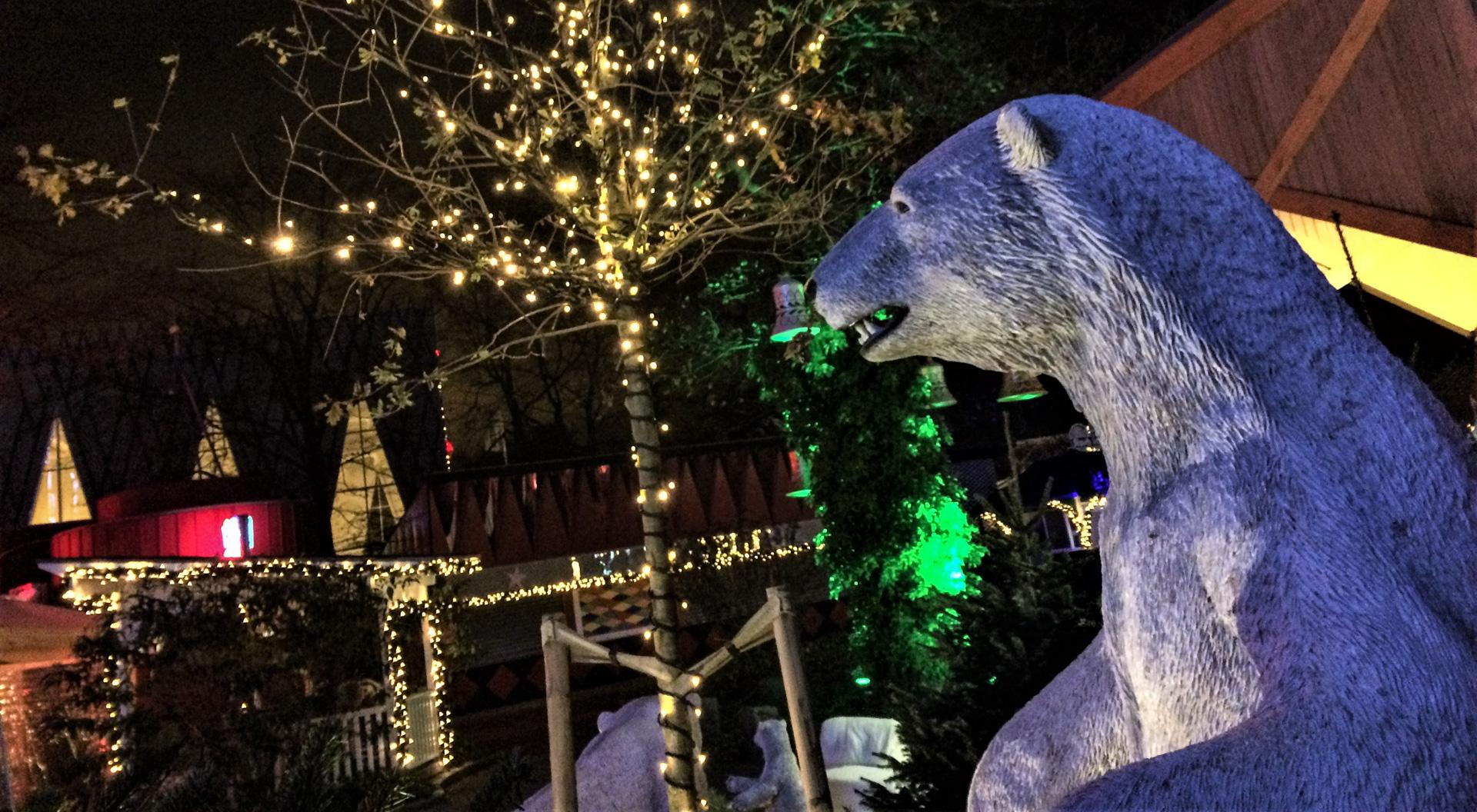 Nu tændes lysene: Julen funkler i Friheden