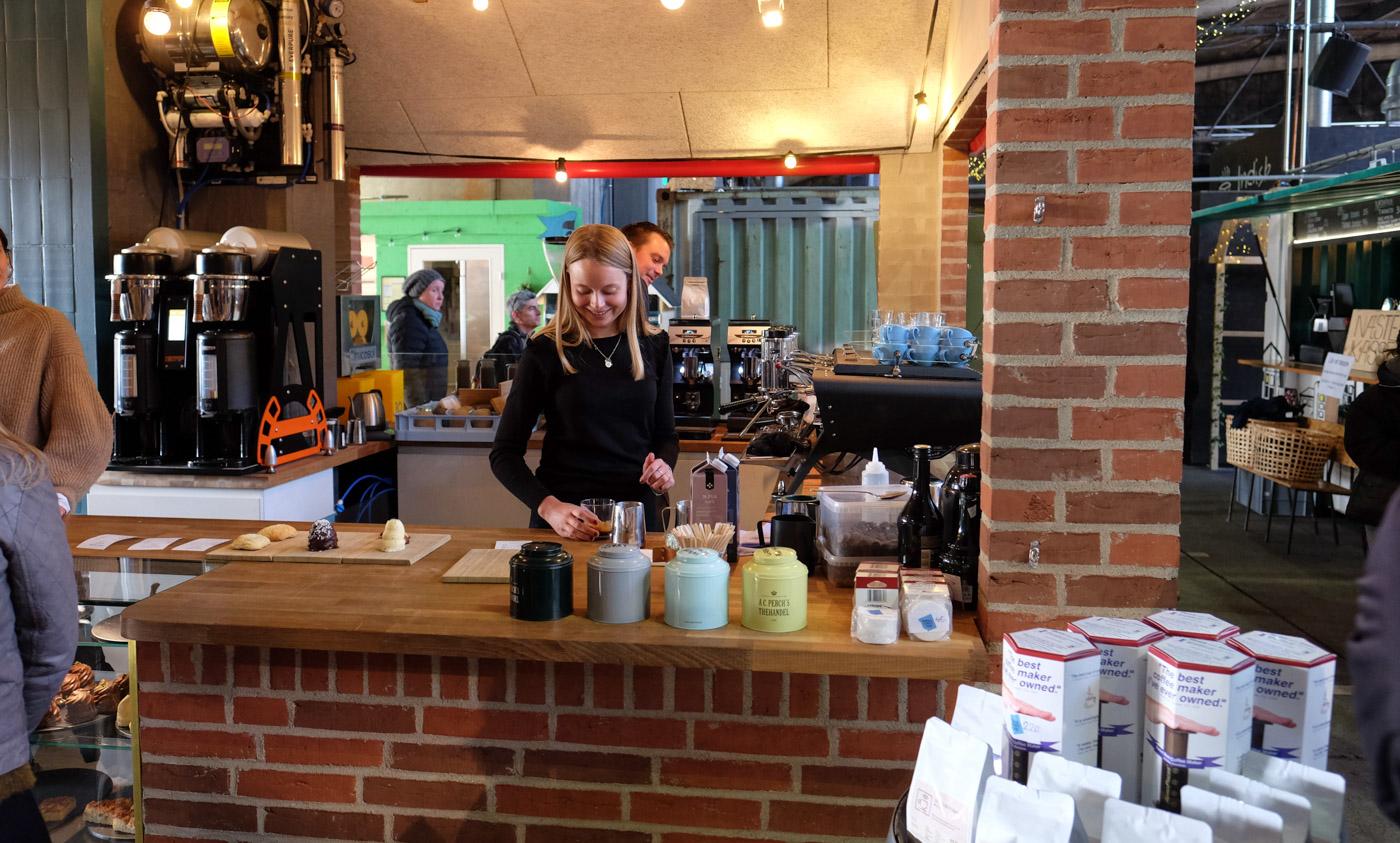 Anmeldelse: Kaffen og 'de søde fristelser' på Aarhus Street Food er værd at gå efter