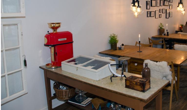 Kaffekværn hos Langhoff & Juul