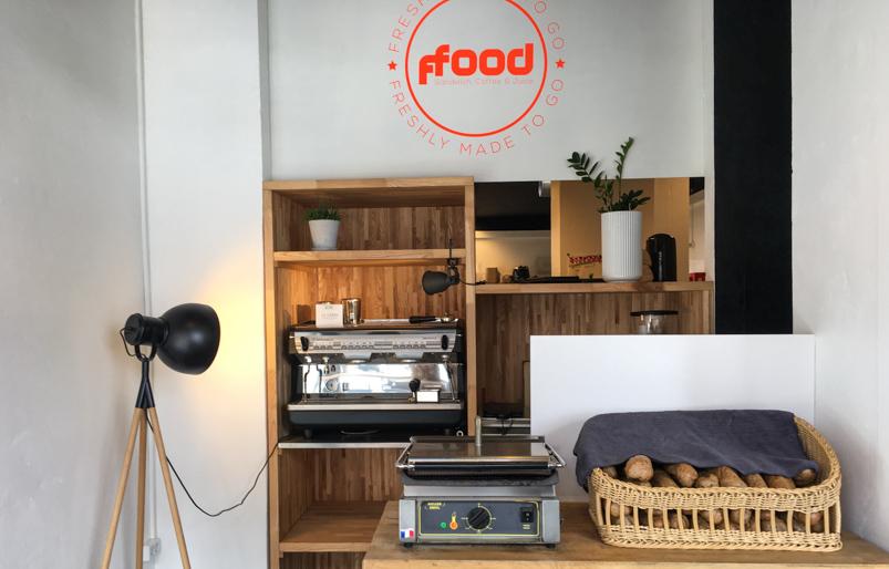 Kaffemaskinen på ffood