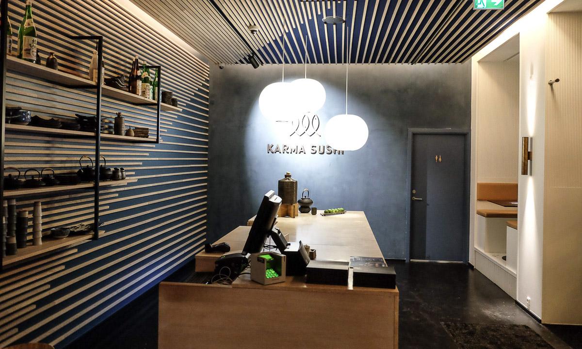 Karma Sushi i Frederiksgade - Aarhus Update