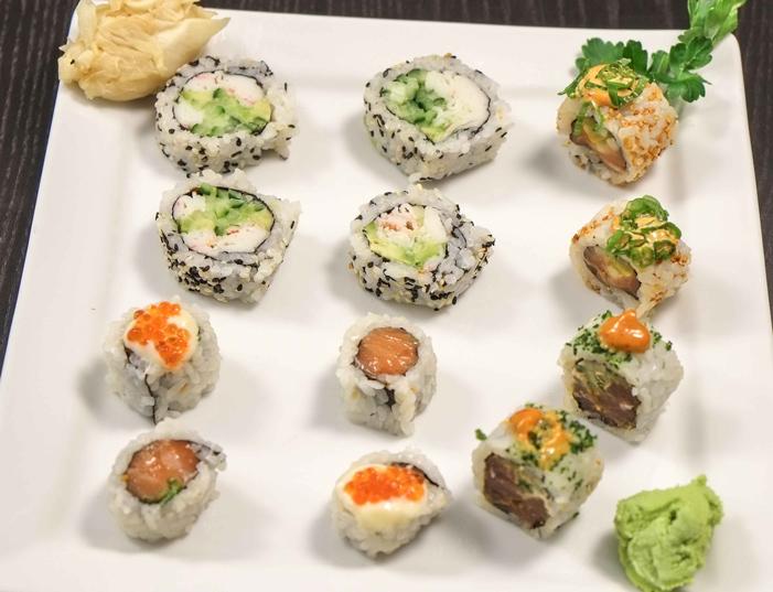 Karma roll boks fra Karma Sushi
