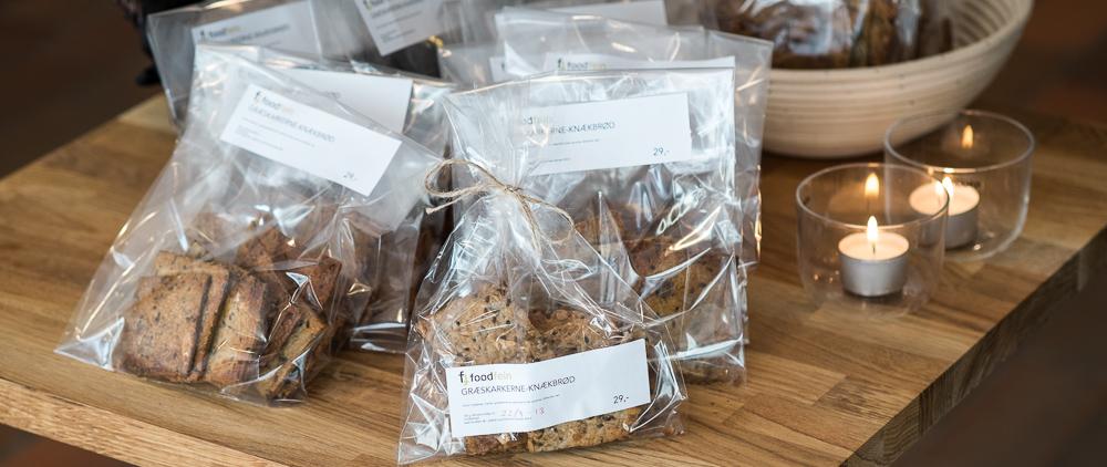 Knækbrød hos Foodfein i Aarhus
