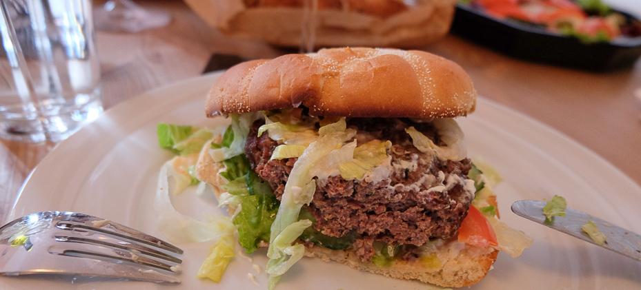 Knastør burger - Bellissimo Pizza & Grill