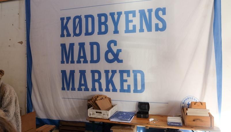 Kødbyens Mad & Marked på Godsbanen i Aarhus
