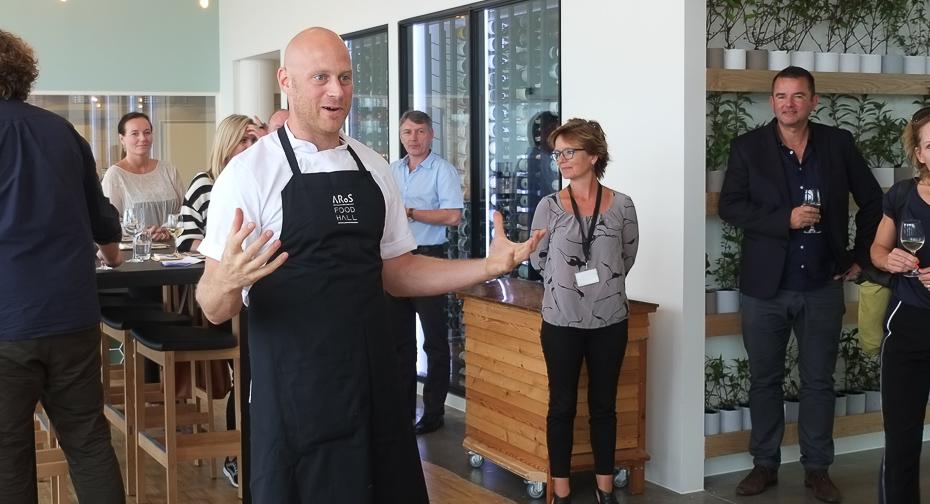 Køkkenchef, Bjørn Madsen - Aros Food Hall_