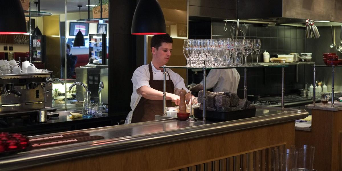 Køkkenchefen på Ferdinand i Aarhus
