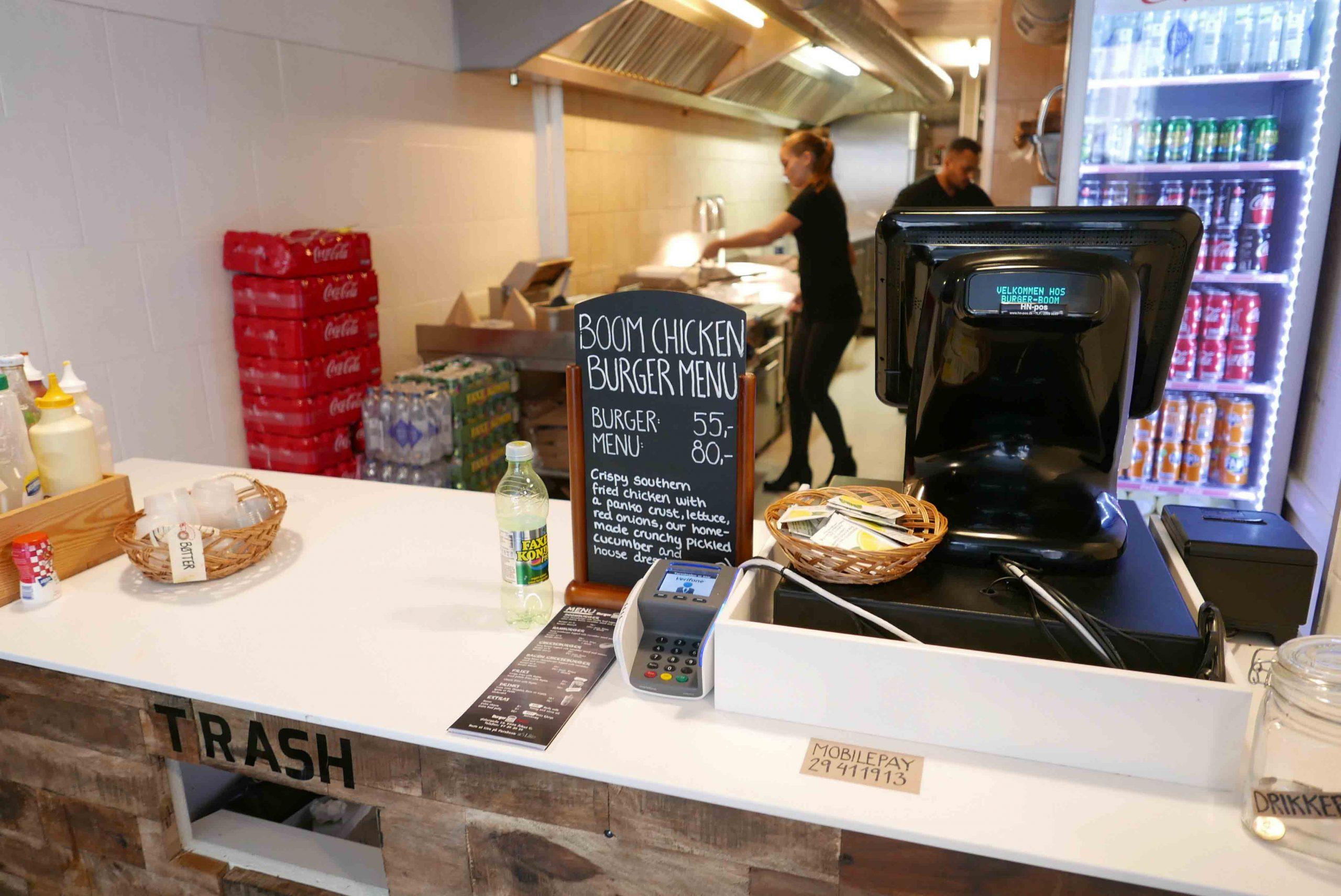 Køkkenet hos Burger Boom ved Strøget i Aarhus - Aarhus Update