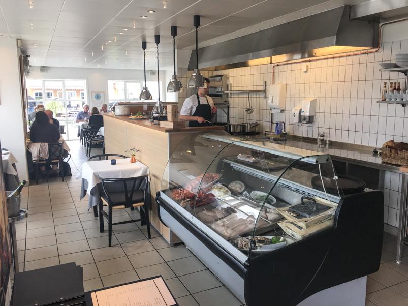 Køkkenet på Restaurant Seafood