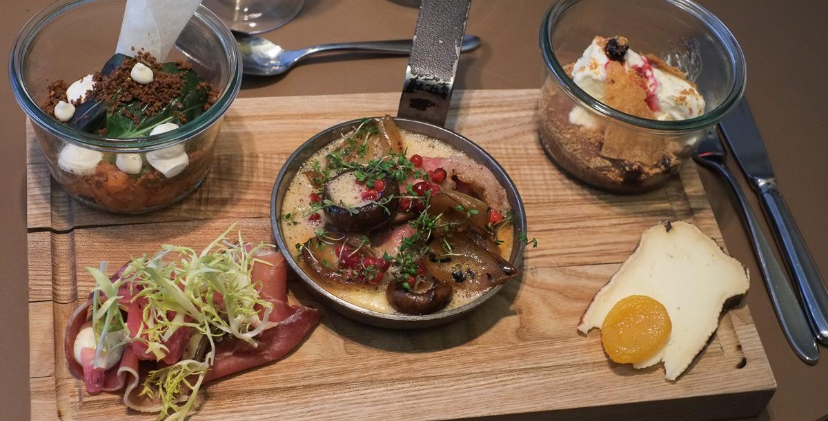Kokkens bræt med 5 serveringer på Ferdinand i Aarhus
