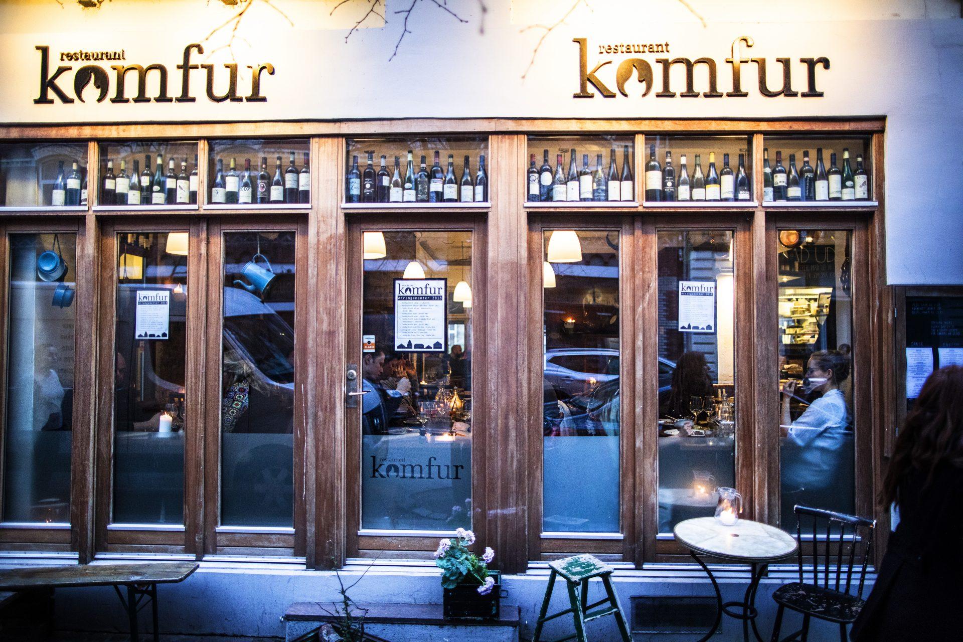 God stil: Eleverne overtager Restaurant Komfur - dog kun for en aften
