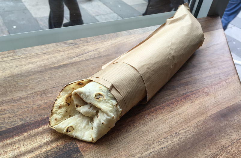Kongerullen på Royal Shawarma Bar i Ryesgade
