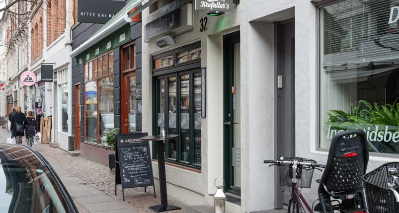 Krofatter's mad- og ølbar i Aarhus_