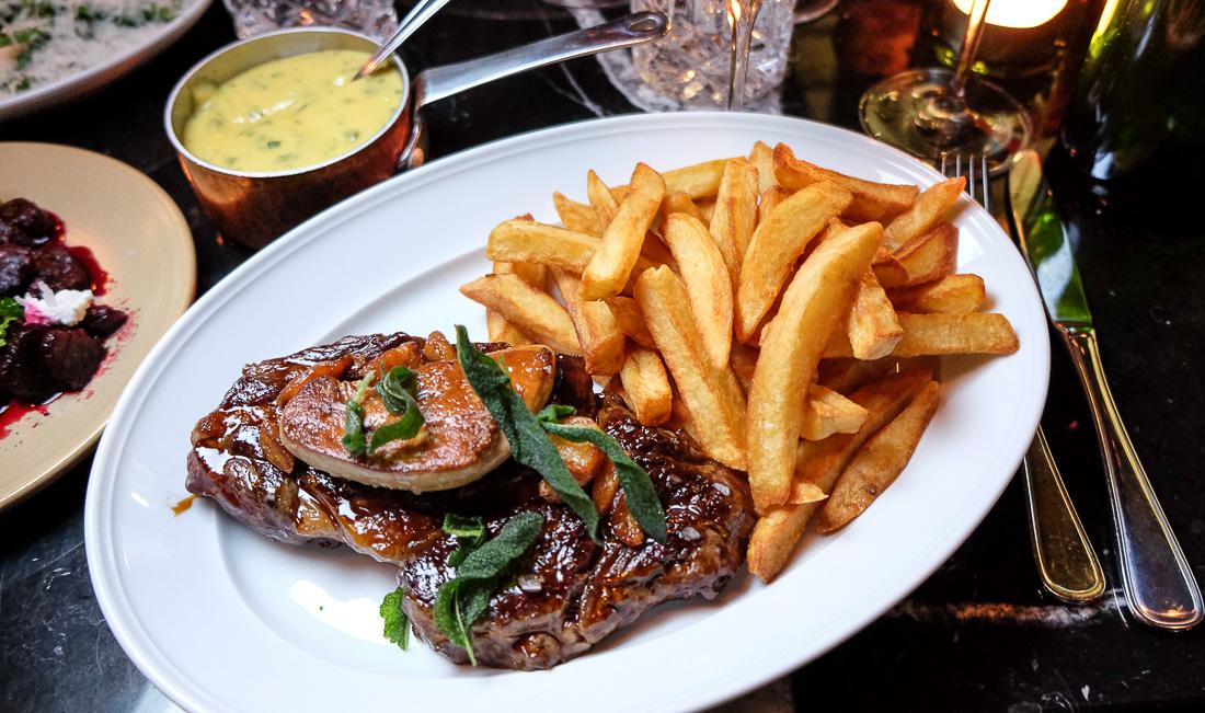 Krogmodnet ribeye hos Retour Steak i Aarhus - Aarhus Update