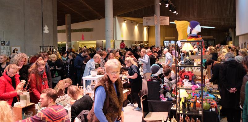 Kunstmarked på Godsbanen i Aarhus C