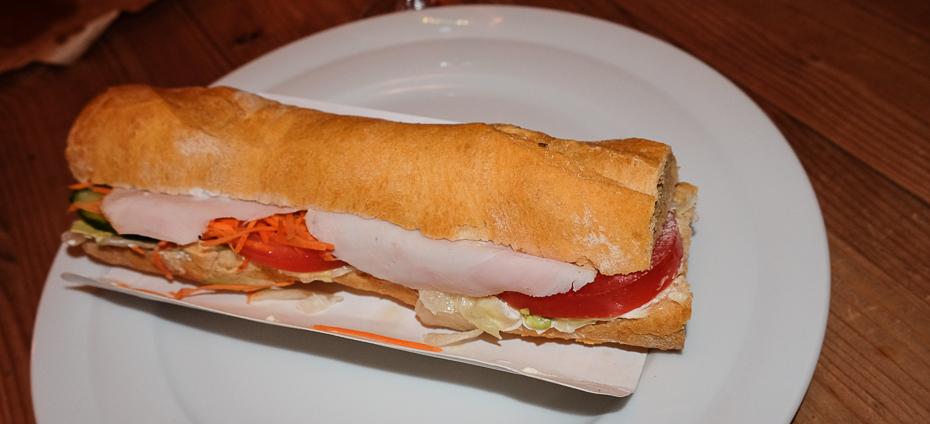 Kyllinge-bacon sandwich