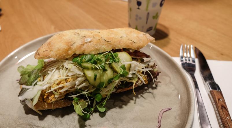 Kyllingesandwich på Dokk1