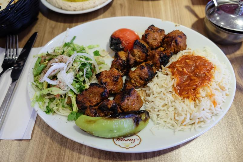 Lammespyd til 90 kr. hos Saray Kebab i Hasle