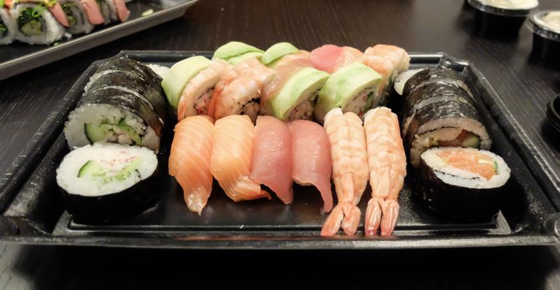 Letz Sushi - anstændigt, men på ingen måde billigt