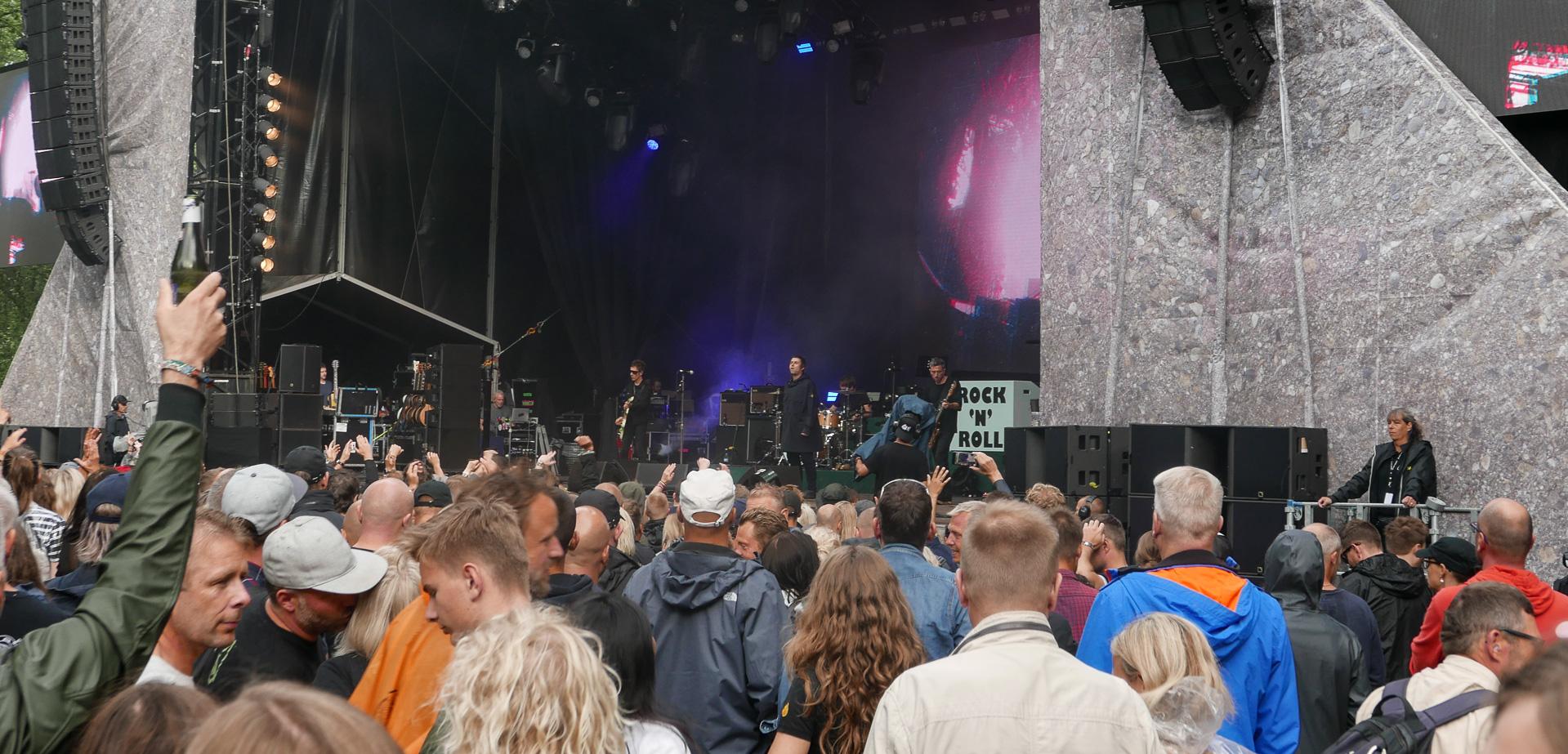 Anmeldelse af Liam Gallagher: Når Oasis-hits redder dagen