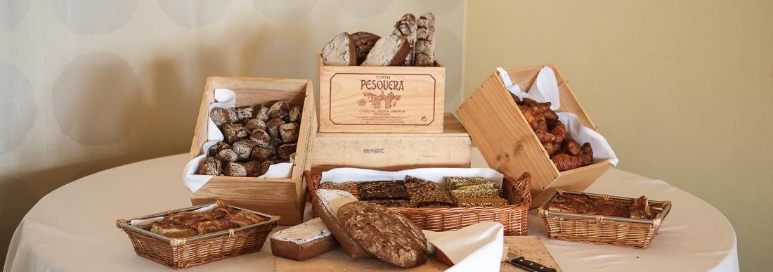 Lidt af brødudvalget på Restaurant Varna_