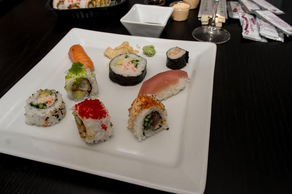 Lidt af hvert fra Sino Sushi i Viby