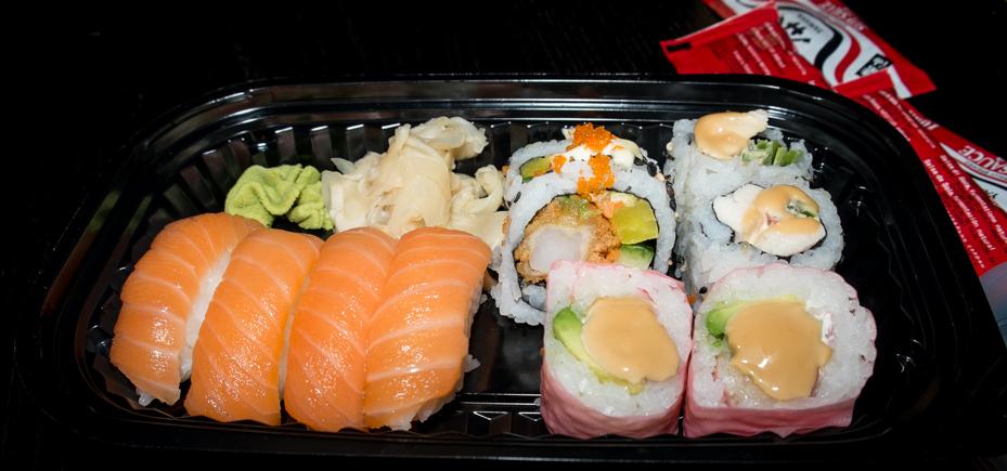 Lidt af hvert fra SushiMania i Bruuns Galleri