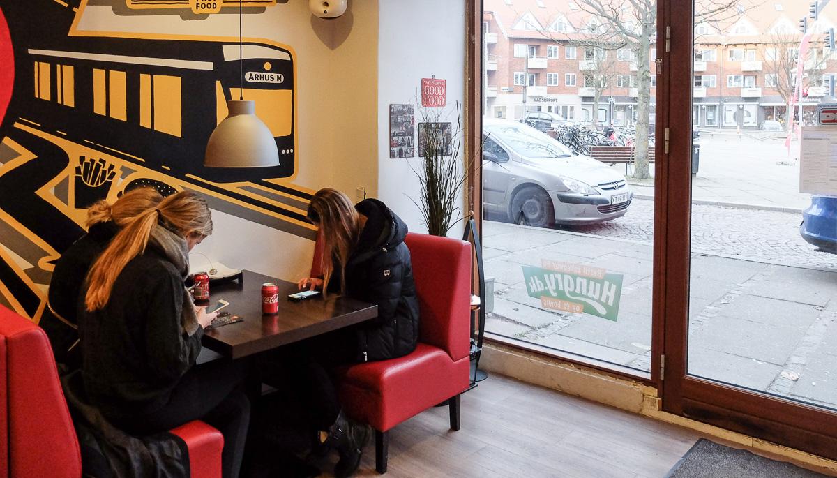 Lidt gæster hos Burger Hut