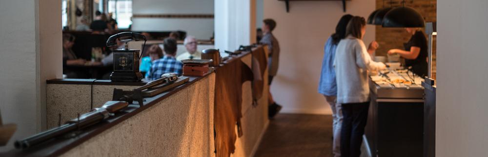 Indretning på Restaurant Flammen i Aarhus