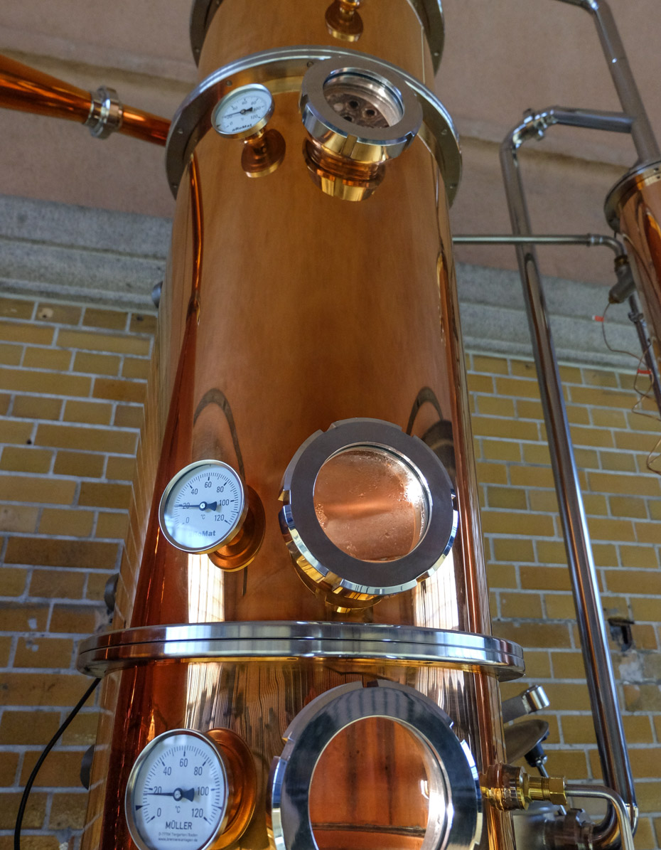 Lidt kobber hos Njord Gin