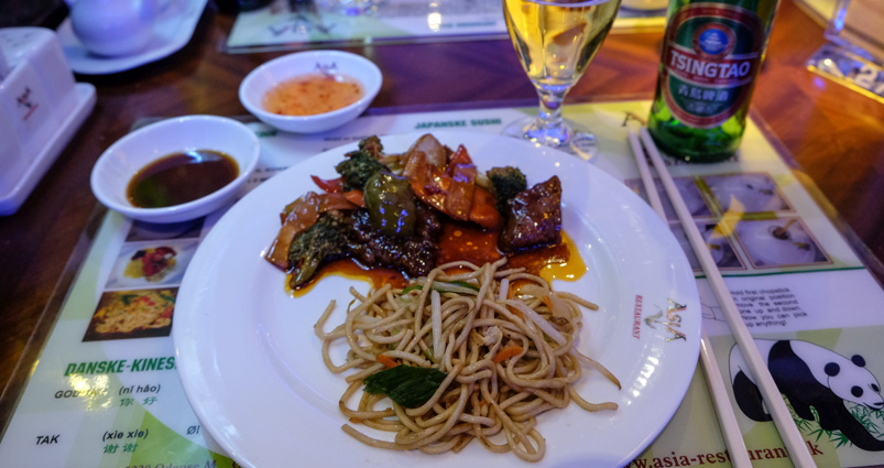 Lidt mere fra buffeten på Asia Restaurant i Viby