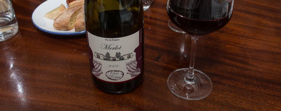 Lidt økologisk vin hos Deli'en