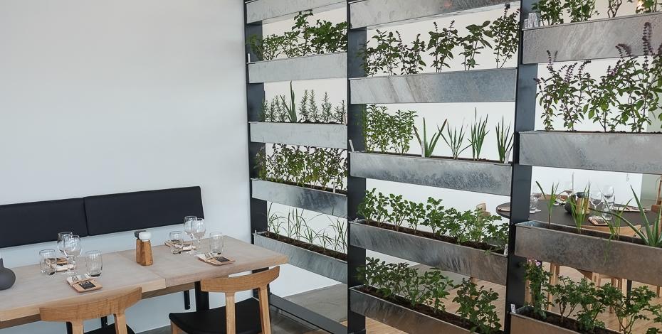 Lidt urter til maden - Aros Food Hall på toppen af Aarhus_