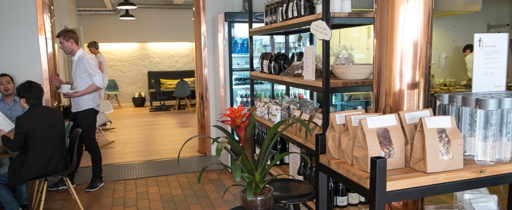 Lokalerne hos Foodfein i Aarhus