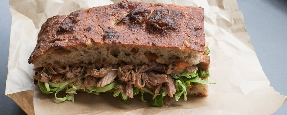 Lun Banh Mi sandwich hos Bernth & Co