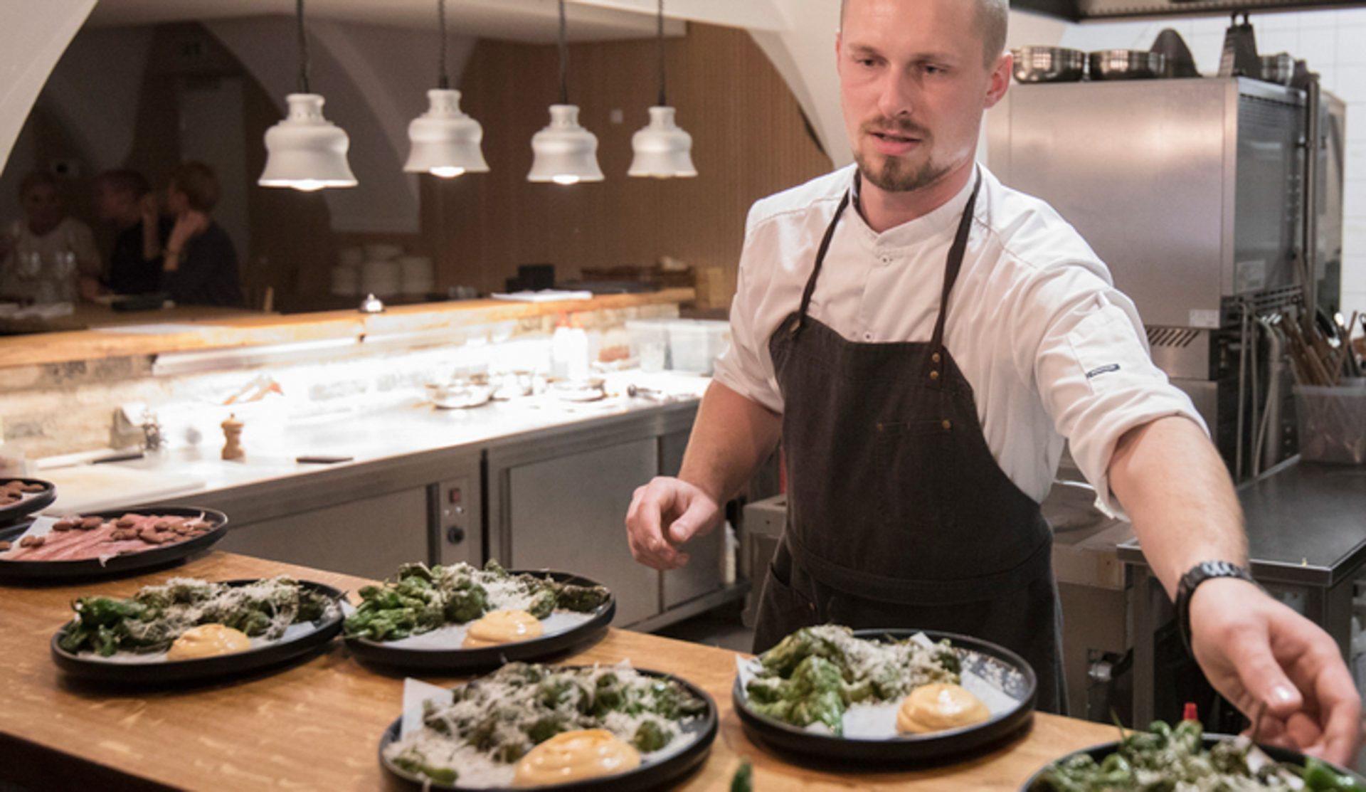 MALT: Brygmester Anders Kissmeyer laver beer makers dinner med 10 serveringer