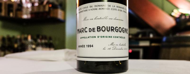 Marc du Bourgogne på Dauphine