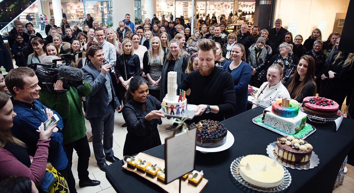 Stor bagedyst i Bruuns Galleri: Aarhuskagen 2019 skal kåres