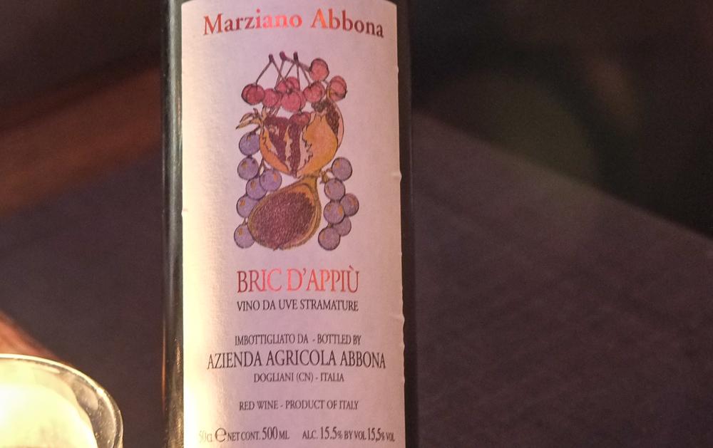Marziano Abbona - Bric d'Appiu på La Pyramide