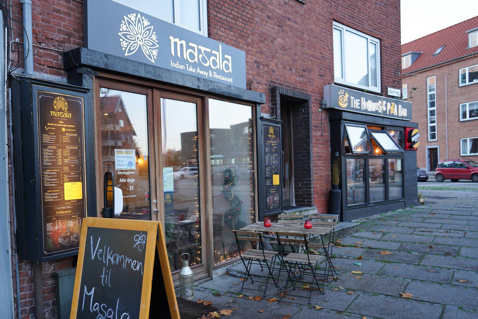 Madanmeldelse: Det bedste måltid indisk mad i Aarhus fås hos Masala