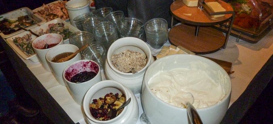 Masser af mad på Cross Café