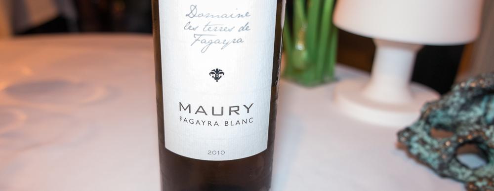 Maury Blanc fra Domaine les terres de Fagayra på Frederikshøj