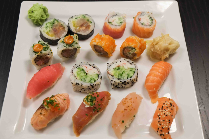 Mellembox fra Karma Sushi
