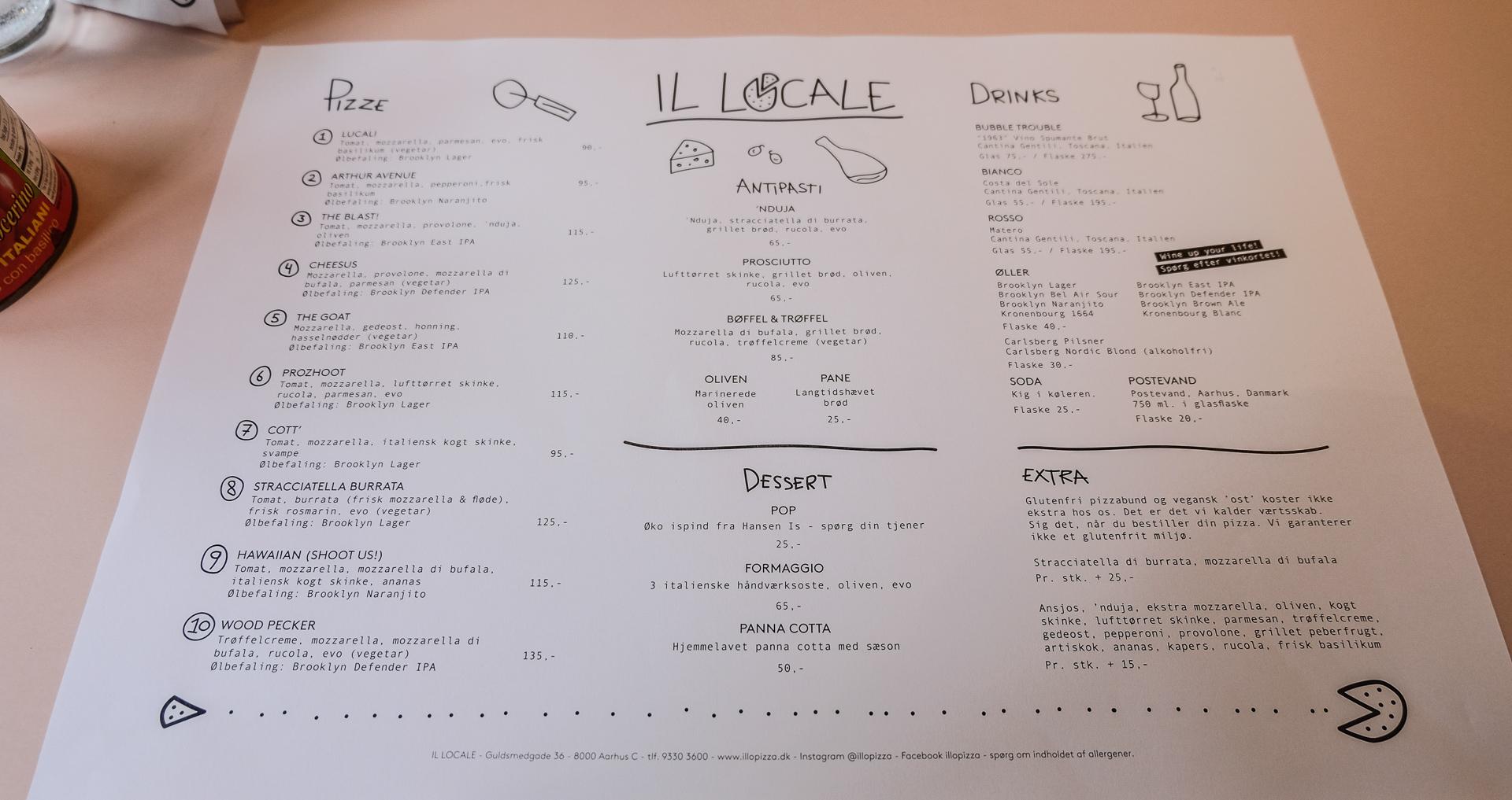 Anmeldelse af Il Locale: Pizza-surdejen blæste os baglæns ud i Guldsmedgade