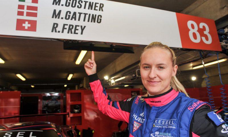 Michelle Gatting fik sidste år sin debut i 24-timersløbet på Le Mans. Den 15.-17. maj deltager hun i Mixed Double ved Classic Race Aarhus (foto: Classic Race Aarhus / Morten Alstrup).