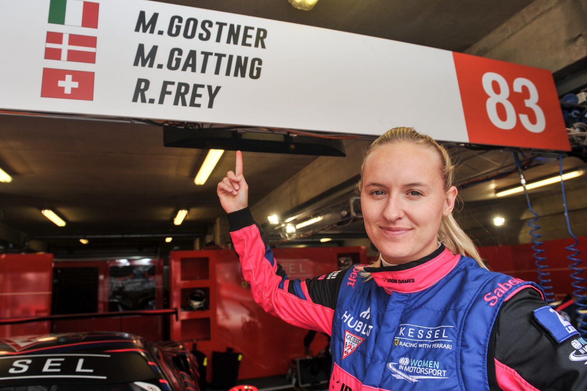 Ny klasse: Kvindelig Le Mans-kører klar til Classic Race 2020