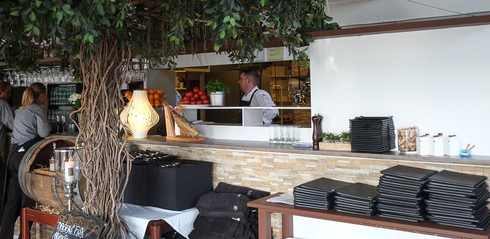 Mikkel Laursen på Restaurant Martino i Aarhus