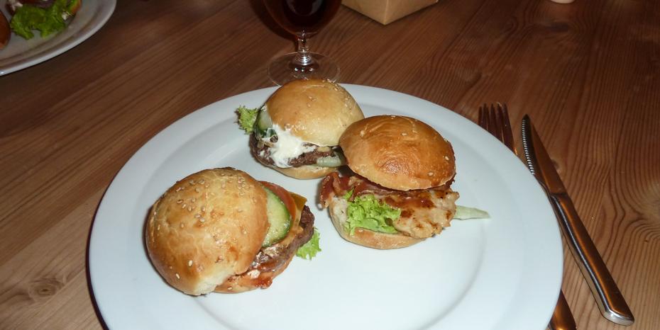 Miniburgere fra Rodizio på Clemens Bro
