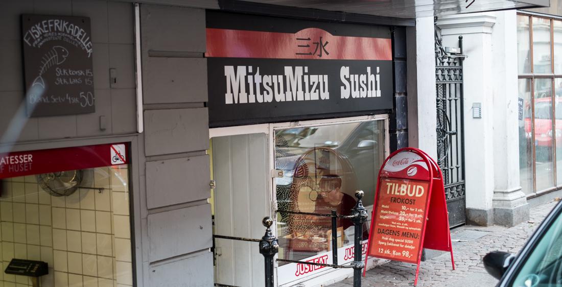 Mitsu Mizu Sushi i Guldsmedgade