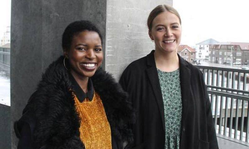 Cecilia Christensen (t.v.) er stifter af Conscious Fashion Week, og Amalie Skjerning (t.h.) er frivillig hos den nystartede organisation, der arbejder for at gøre forbrugerne mere bevidste om deres tøjvalg.